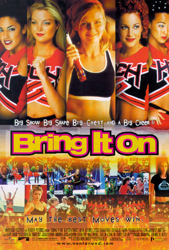 bring it on film review Director: peyton reed bring it on is a 2000 american teen comedy film directed by peyton reed and written by jessica bendinger the film stars kirsten dunst eliza dushku jesse br running time: 1:38:00.