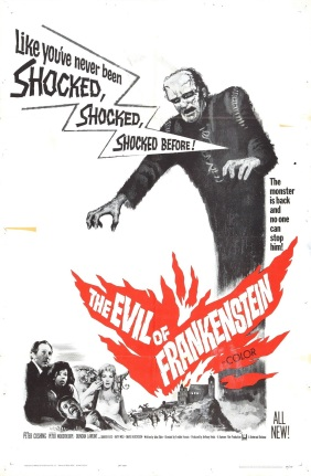 Movie Madness #15: Evil of Frankenstein